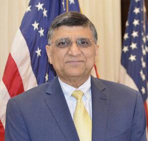 Qaisar Shareef, Secretary